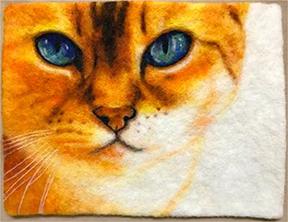 Gudrun cat felt
